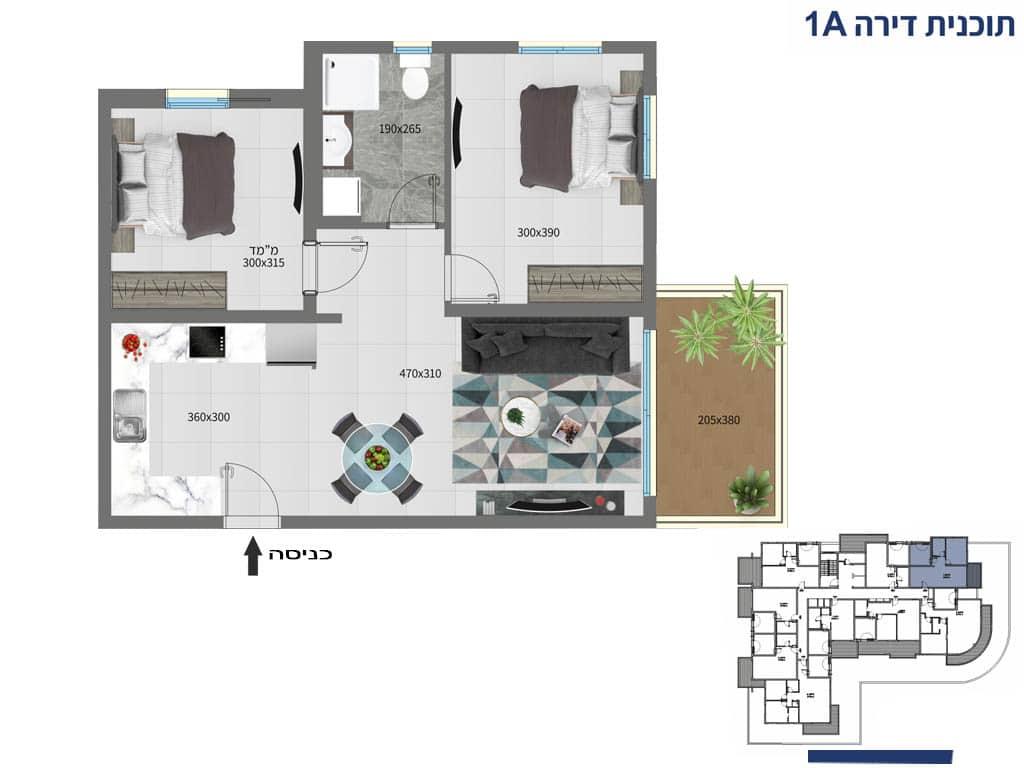 דירות למכירה באילת 3 חדרים